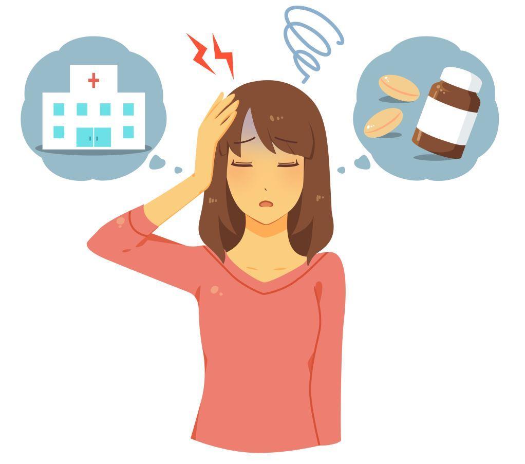 zawroty głowy od leków