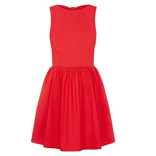 Czerwona sukienka, New Look, cena