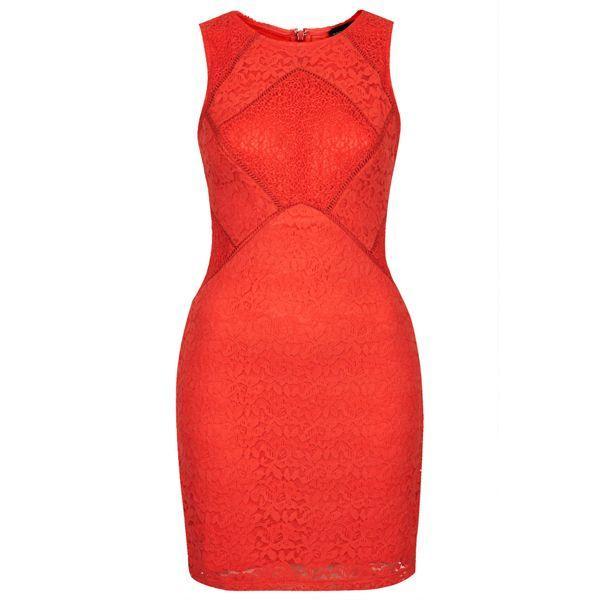 Czerwona sukienka, Topshop, cena