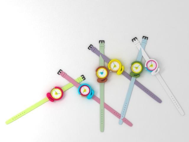 """Kolekcja zegarków """"Number watches"""" zaprojektowanych przez projektanta Zhao"""