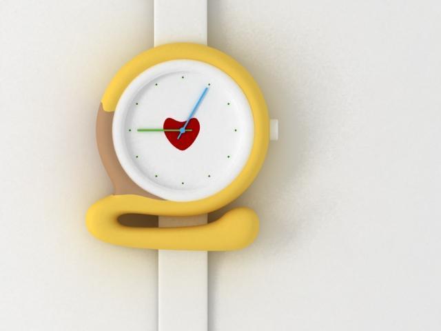 Zegarki w kształcie cyfr projektu Zhao - galeria