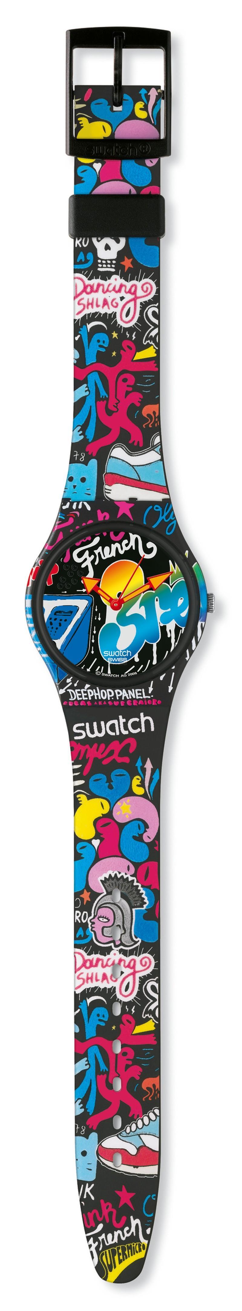 Zegarki z kolekcji CreArt marki Swatch - zdjęcie