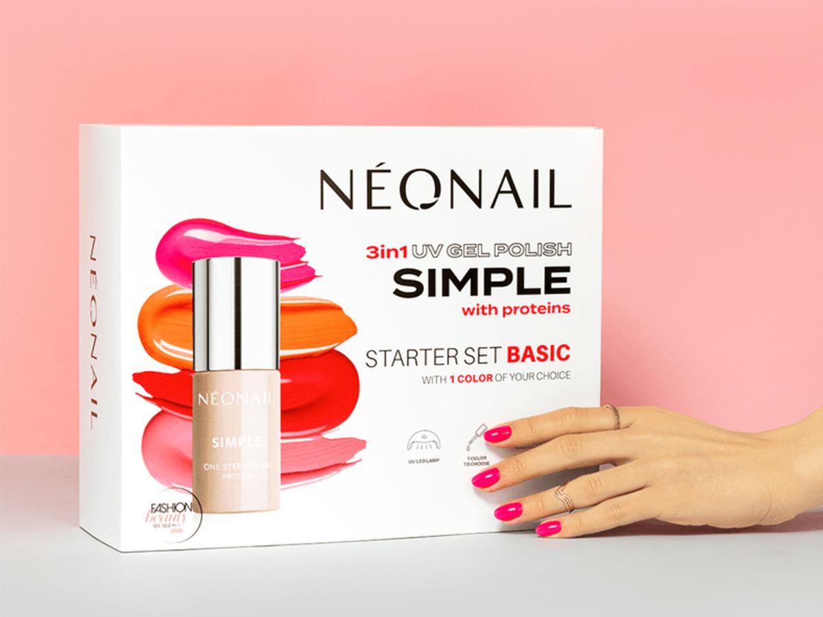 zestaw do manicure hybrydowego Neonail