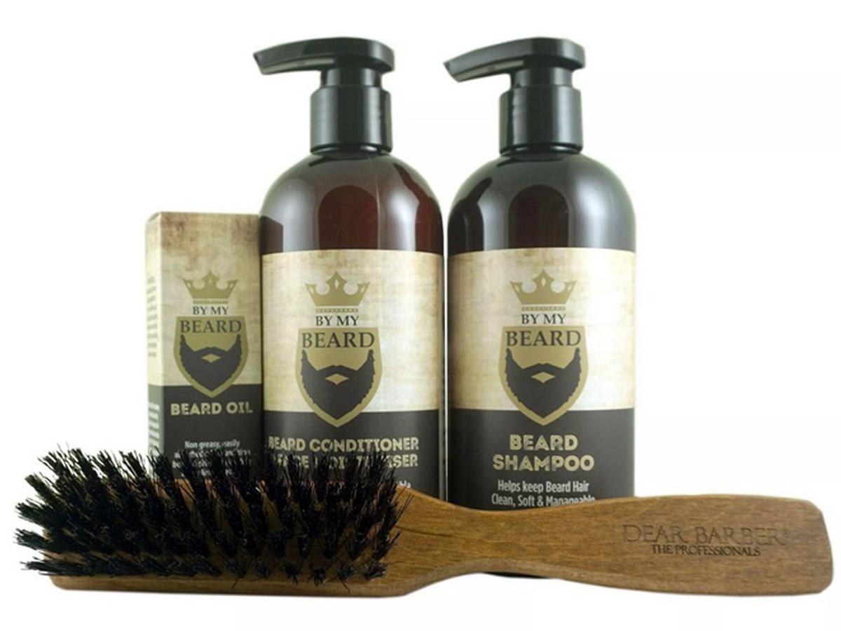 Zestaw kosmetyków męskich do brody