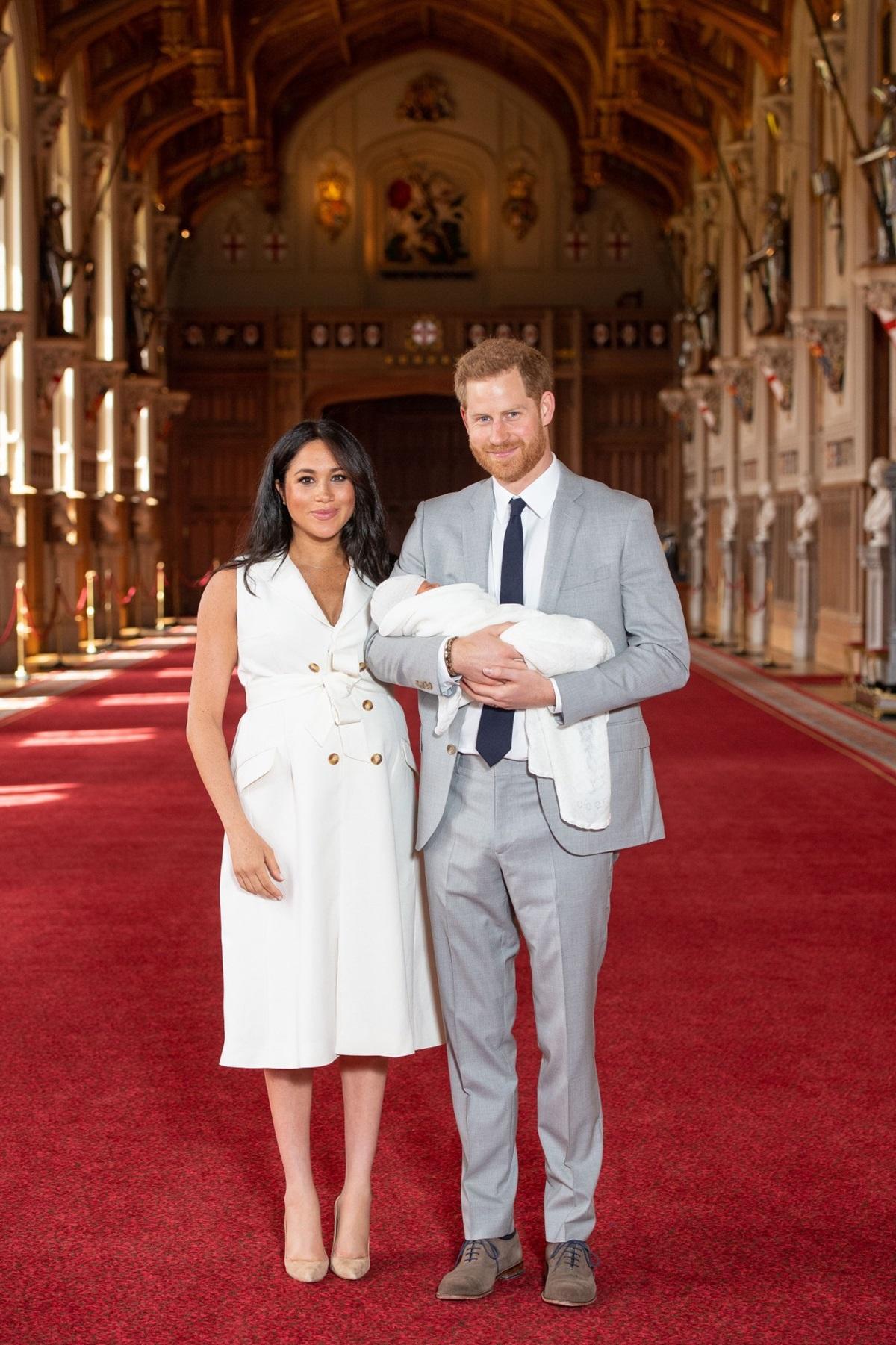 Księżna Meghan, książę Harry i royal baby