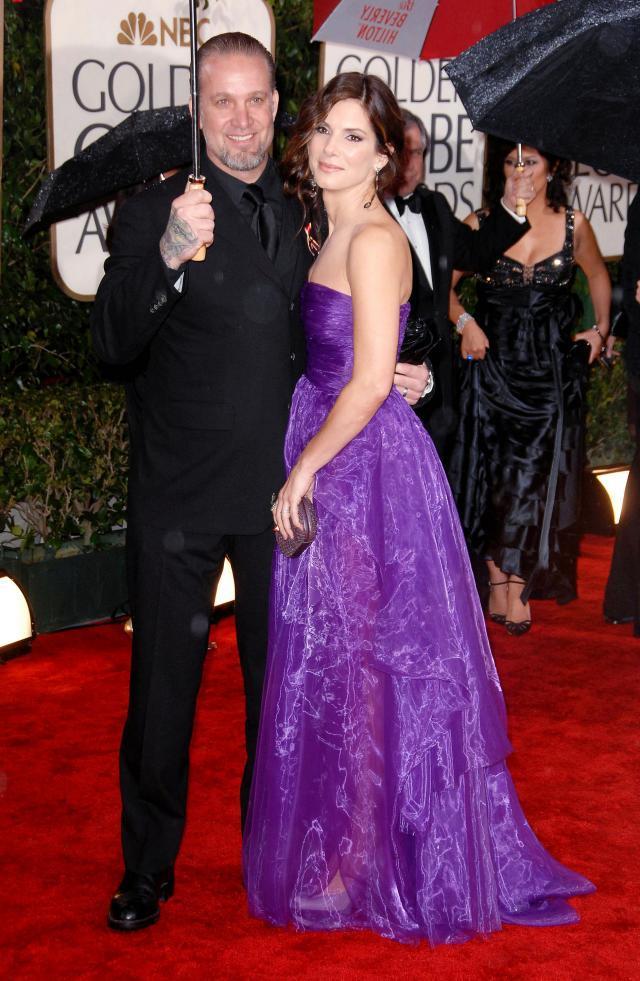 Jesse James and wife Sandra Bullock