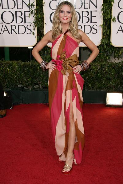Heidi Klum - Złote Globy 2011