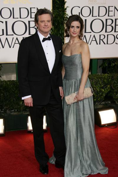 Colin Firth - Złote Globy 2011