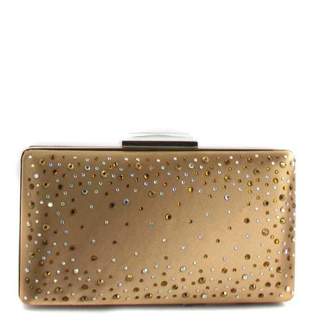 472b918db75e7 torebka Menbur z cekinami w kolorze złotym - błyszczące torebki ...