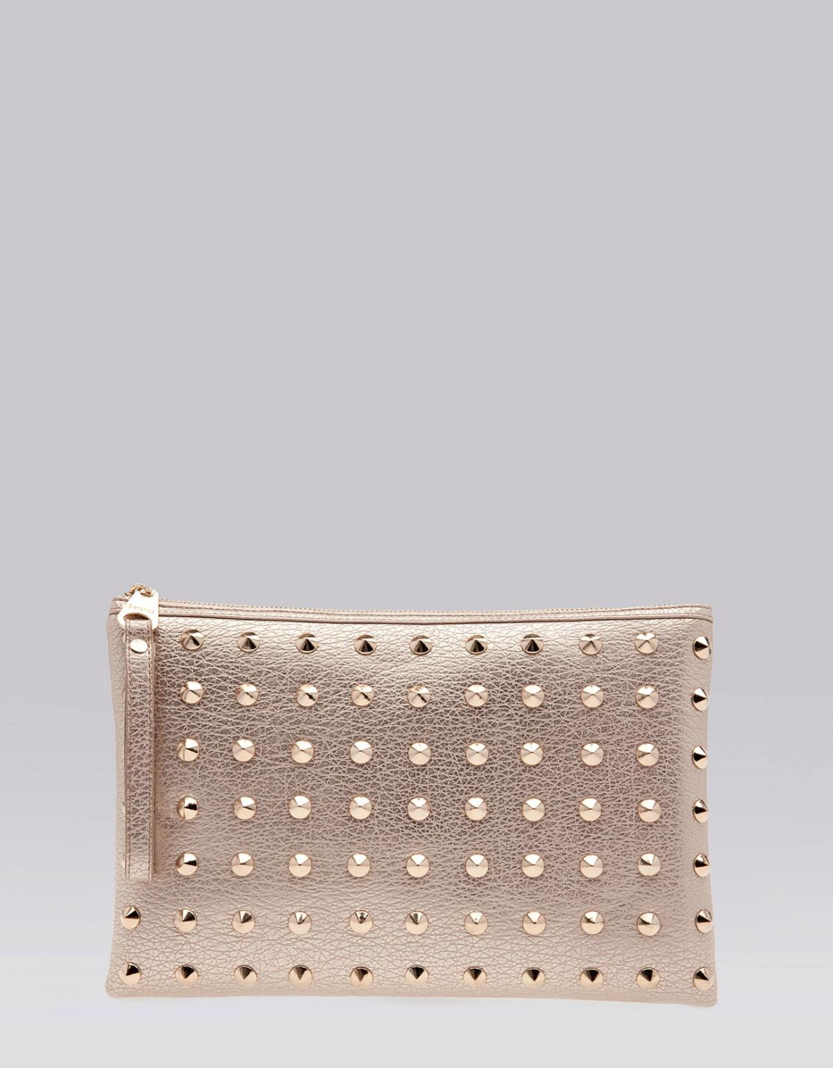 1daf3e4bc2be7 śliczna torebka Bershka w kolorze złotym - błyszczące torebki ...