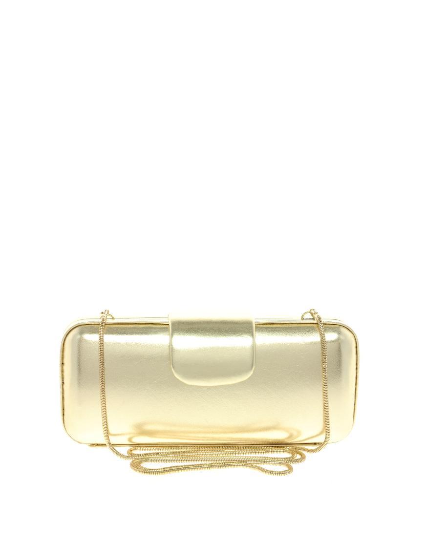 ed27bd451d0c1 śliczna kopertówka Asos w kolorze złotym - błyszczące torebki ...