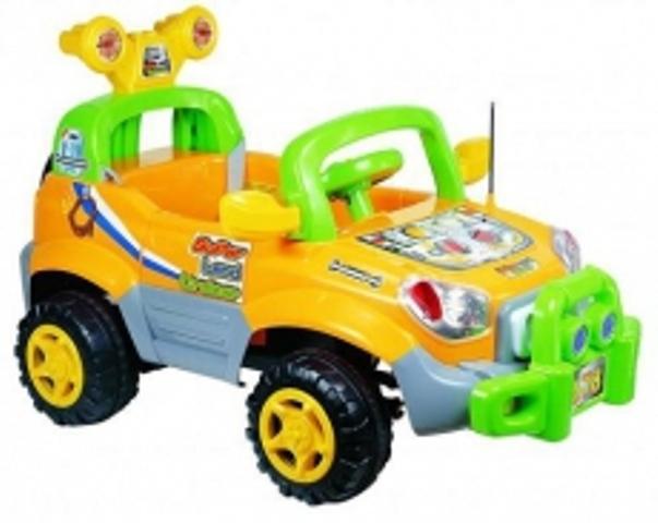 Zmotoryzowane zabawki dla dziecka - zobacz galerię