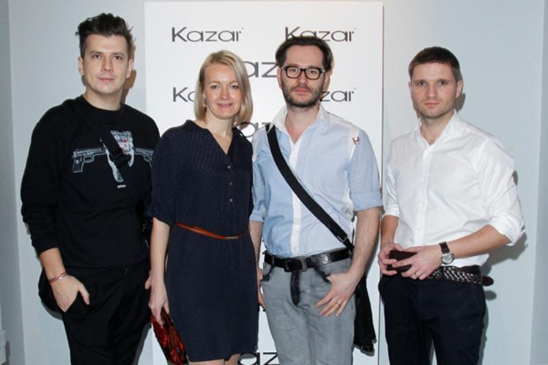 Znani na pokazie kolekcji Kazar - wiosna/lato 2013