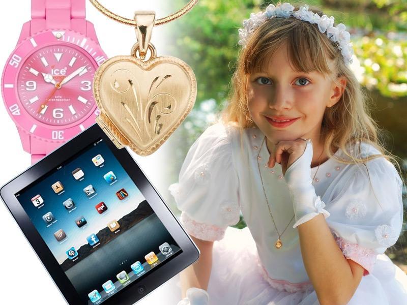 Zobacz najlepsze propozycje prezentów na komunię dla dziecka!