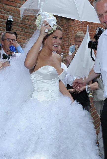 Joanna Liszowska, suknia ślubna, fot. MWmedia