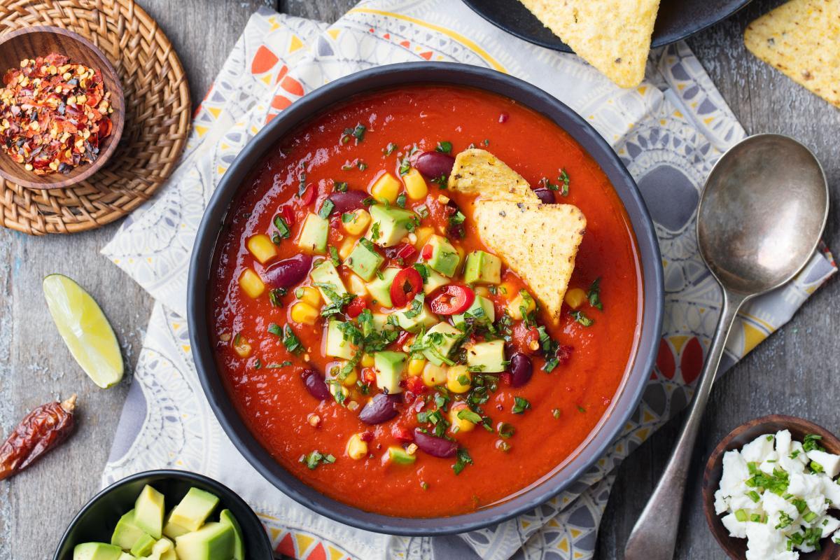 Zupa meksykańska fit
