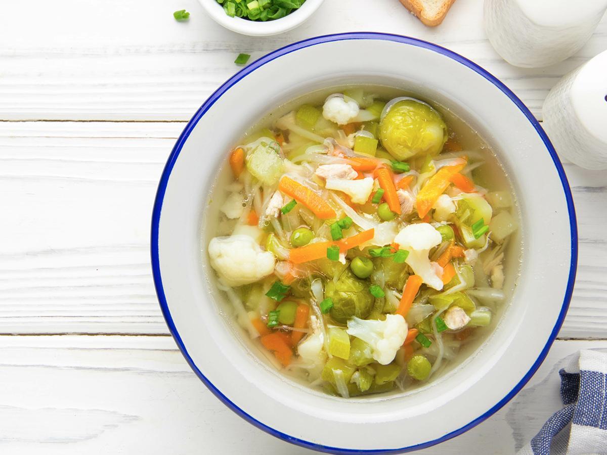 zupa z brukselką przepis