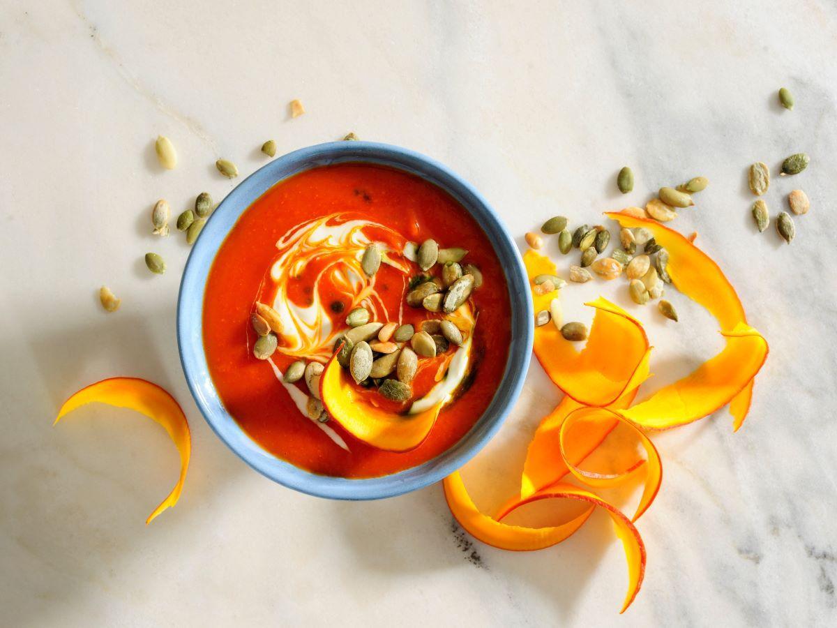 zupa z dyni piżmowej