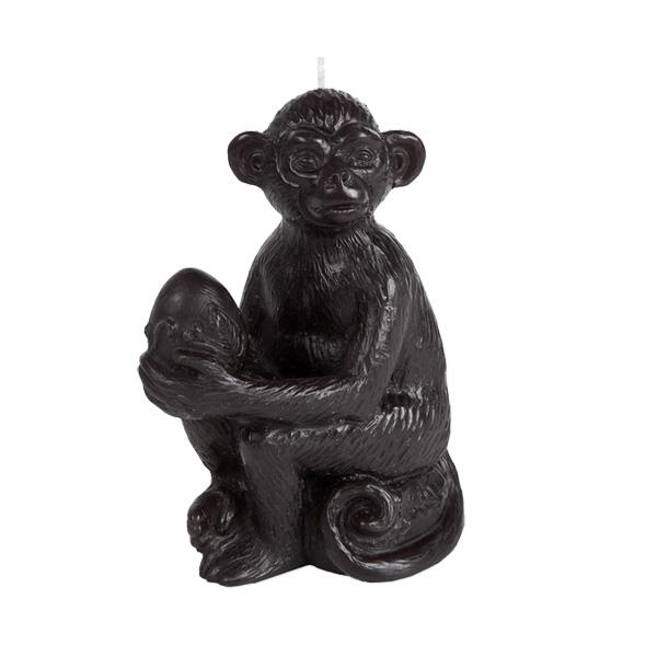 Motywy zwierzęce w aranżacji wnętrz: Świeczka Monkey, ok. 50 zł, Zara Home