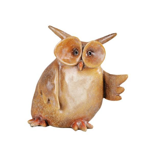 Motywy zwierzęce w aranżacji wnętrz: Figurka Owlie, 49 zł, home&you