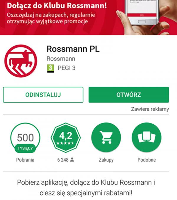 Aplikacja Rossmann I Promocje W Drogerii Jak Polacy