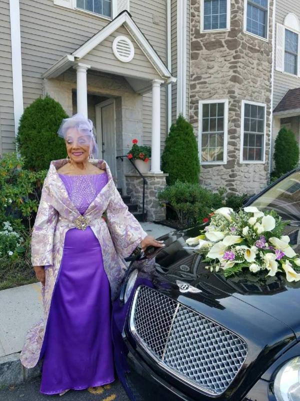86 letnia panna młoda