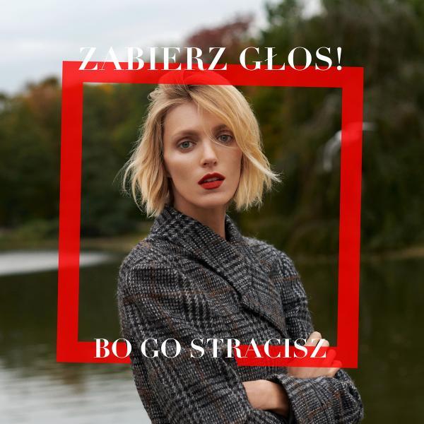 """Do kampanii """"Zabierz głos, bo go stracisz"""" dołączyła również Anja Rubik"""