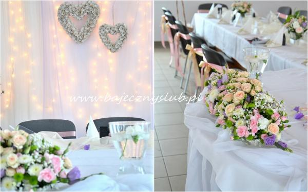Zdjęcia Bajeczny ślub Dekoracje Sal Weselnych Baza Firm