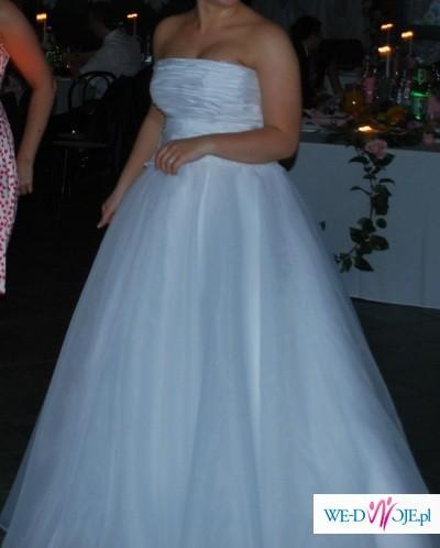 biała suknia FURIO model SIRK ROZM 40-42
