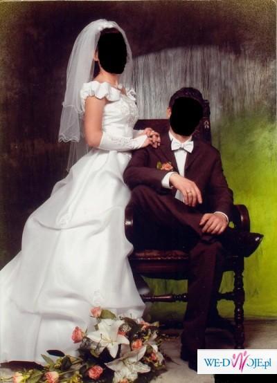 Biała suknia ślubna(Mysłowice)
