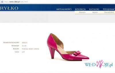 feada7d9 białe skórzane buty Ryłko idealne na ślub rozm. 35 - Buty - Zdjęcie ...
