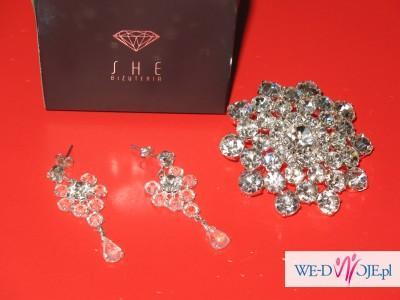 biżuteria ślubna She