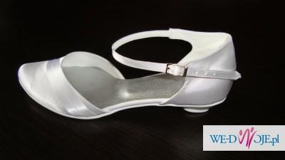 Buty ślubne obcas 1,5 cm