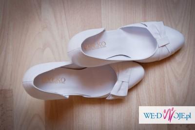 buty ślubne - skórzane firmy RYŁKO