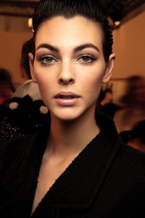 chanel makijaż na sylwestra