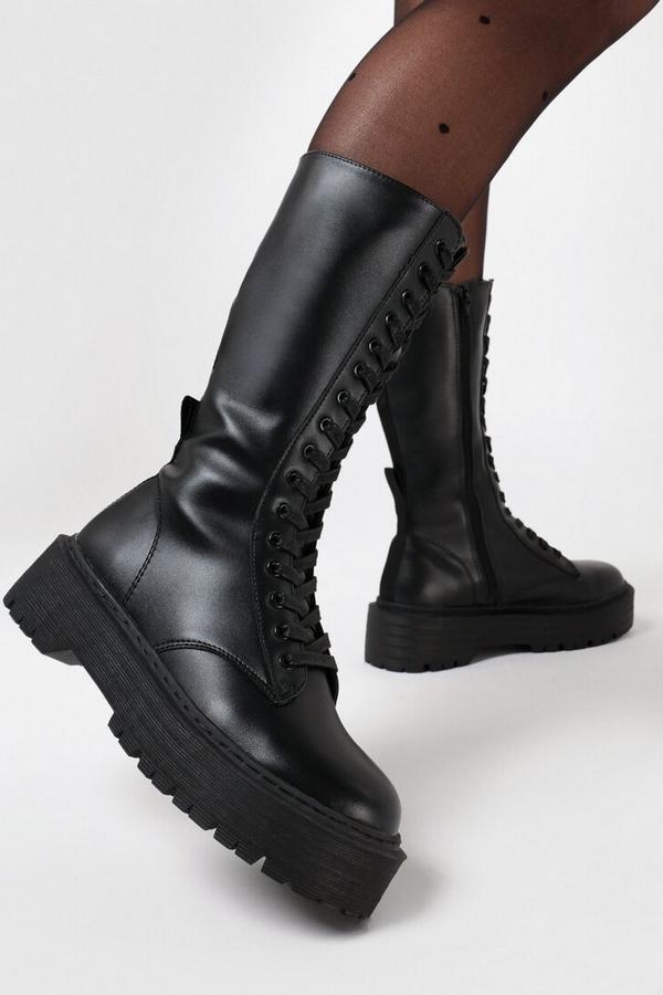 combat boots Born2Be