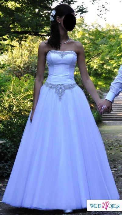 Cudowna Princeska Suknia Ślubna