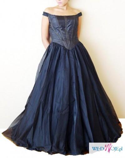 d9721e7d88 Czarna suknia balowa - Suknie wieczorowe - Zdjęcie 1 - Ogłoszenie ...