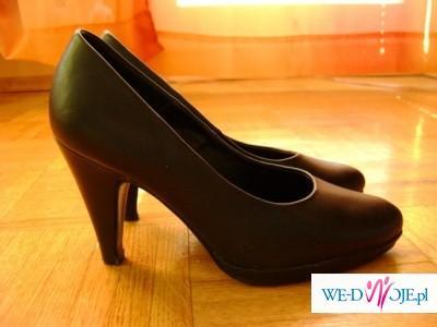 Czarne modne buty