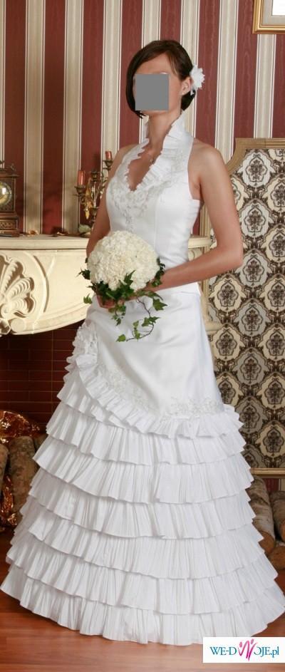 Dwuczęściowa suknia w stylu flemenco - tanio!