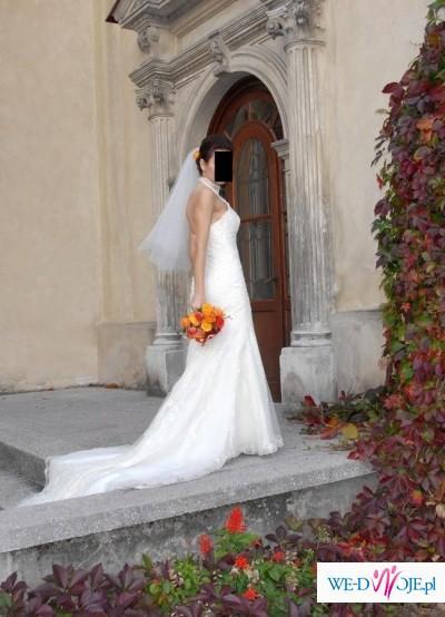 Elegancka i szykowna suknia  z kolekcji Madonna La Sposa