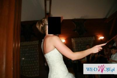Hiszpańska Suknia slubna Madonna rozm. 34/36