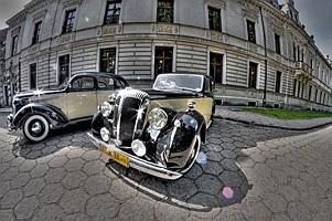 JAGUAR 1938r  &  DODGE 1937r