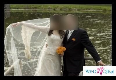 Koronkowa Suknia Ślubna Lilea