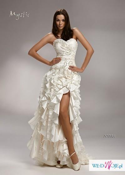 Kupię Hiszpańską Suknie ślubną Z Rozcięciem Suknie ślubne