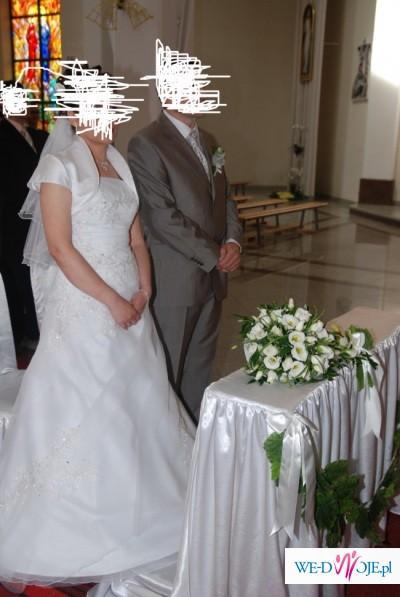 Lekka wygodna i piękna suknia ślubna