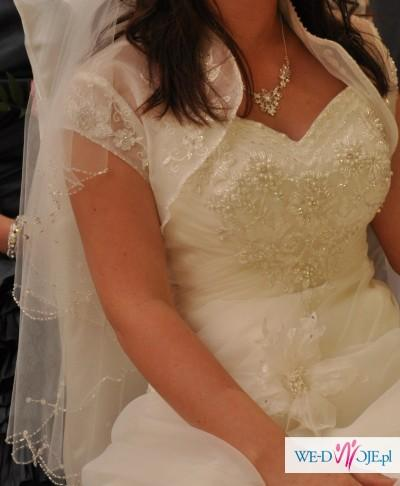 Mam do zaoferowania przepiękną suknię ślubną z tegorocznej kolekcji !