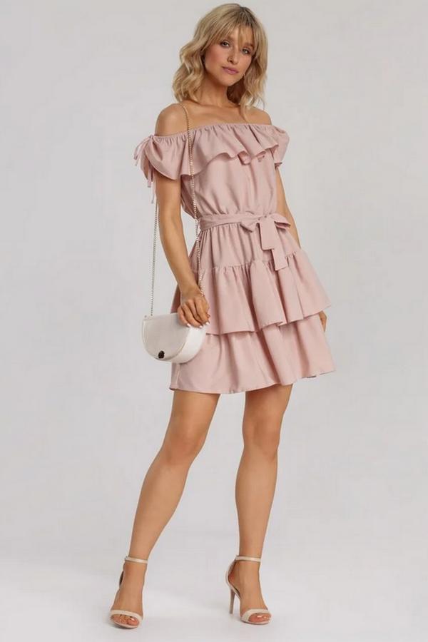 sukienka hiszpanka w stylu Małgorzaty Rozenek