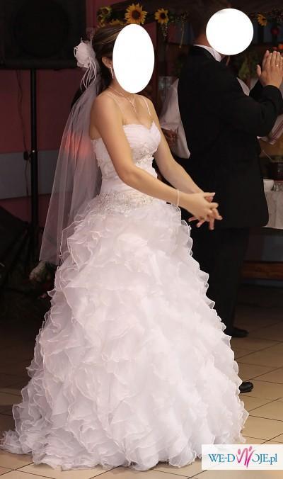 Niepowtarzalna Suknia Ślubna - hiszpanka (szyta na miarę)
