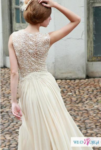 Niepowtarzalna Suknia ślubna Novia Blanca Suknie ślubne Zdjęcie